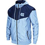 Colosseum Men's North Carolina Tar Heels Carolina Blue/Navy Galivanting Full Zip Jacket