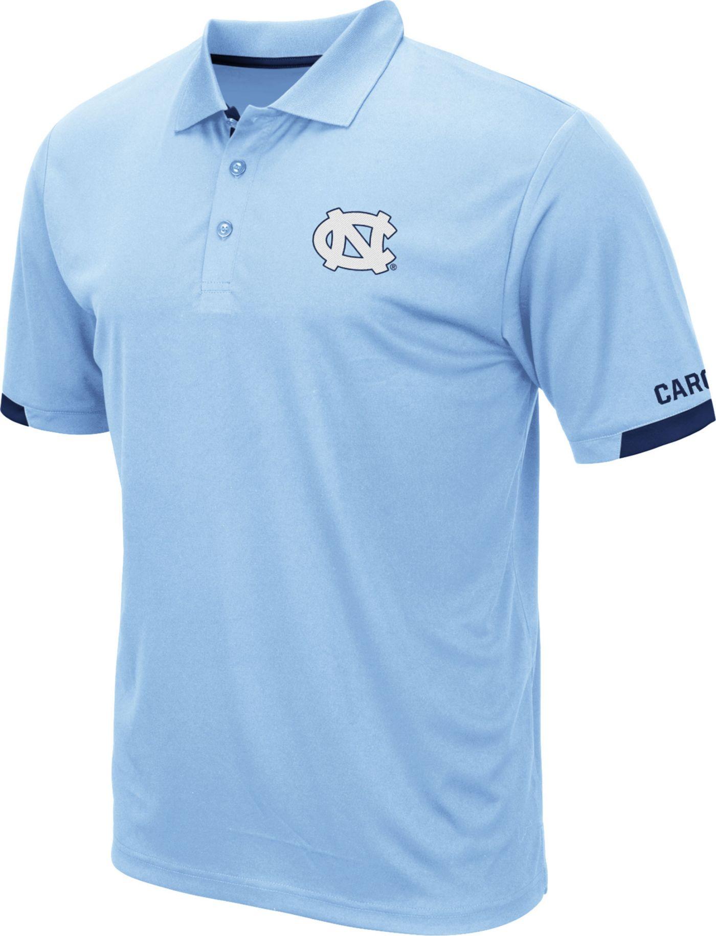 Colosseum Men's North Carolina Tar Heels Carolina Blue Fairway Polo