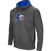 Colosseum Men's UNC Asheville Bulldogs Grey Fleece Pullover Hoodie