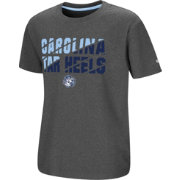 Colosseum Youth North Carolina Tar Heels Grey Junior T-Shirt