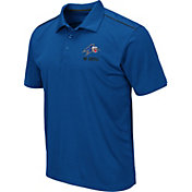 Colosseum Men's UNC Asheville Bulldogs Royal Blue Eagle Polo