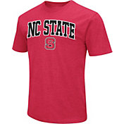 Colosseum Men's NC State Wolfpack red Dual Blend T-Shirt