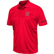 Colosseum Men's NC State Wolfpack Red Stance Polo
