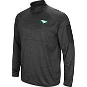 Colosseum Men's North Dakota Fighting Hawks Grey Amnesia Quarter-Zip Shirt