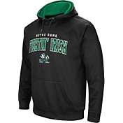 Colosseum Men's Notre Dame Fighting Irish Fleece Pullover Black Hoodie
