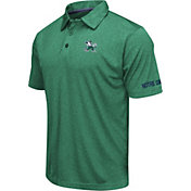Colosseum Men's Notre Dame Fighting Irish Green Axis Polo