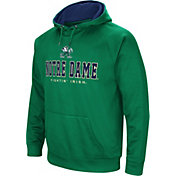 Colosseum Men's Notre Dame Fighting Irish Green Fleece Pullover Hoodie
