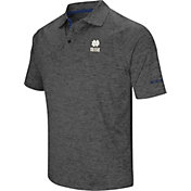 Colosseum Men's Alabama Crimson Tide Grey Downswing Polo