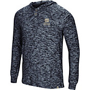Colosseum Men's Notre Dame Fighting Irish Navy 5 Crawfish Dinners Long Sleeve T-Shirt