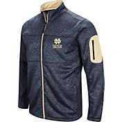 Colosseum Men's Notre Dame Fighting Irish Navy Glacier Full-Zip Jacket