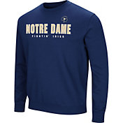 Colosseum Men's Notre Dame Fighting Irish Navy Playbook Fleece