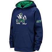 Colosseum Youth Notre Dame Fighting Irish Navy Fleece Pullover Hoodie