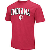 Colosseum Men's Indiana Hoosiers Crimson Dual Blend T-Shirt