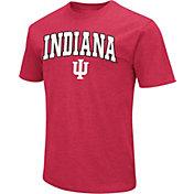 Colosseum Men's Indiana Hoosiers Crimson Dual Blend T-Shirt
