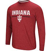 Colosseum Men's Indiana Hoosiers Crimson Touchdown Long Sleeve T-Shirt