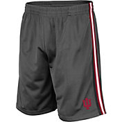 Colosseum Men's Indiana Hoosiers Grey Santiago Shorts