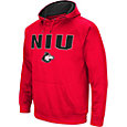 Colosseum Men's Northern Illinois Huskies Cardinal Red Fleece Pullover Hoodie