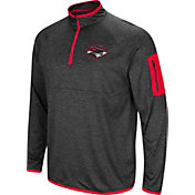 Colosseum Men's UNLV Rebels Grey Amnesia Quarter-Zip Shirt