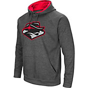 Colosseum Men's UNLV Rebels Grey Fleece Pullover Hoodie