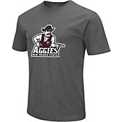 Colosseum Men's New Mexico State Aggies Grey Dual Blend T-Shirt