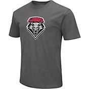 Colosseum Men's New Mexico Lobos Grey Dual Blend T-Shirt