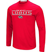 Colosseum Men's New Mexico Lobos Cherry Long Sleeve Performance T-Shirt