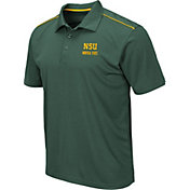 Colosseum Men's Norfolk State Spartans Green Eagle Polo