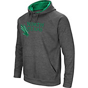 Colosseum Men's North Texas Mean Green Grey Fleece Pullover Hoodie