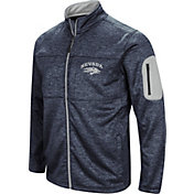 Colosseum Men's Nevada Wolf Pack Blue Glacier Full-Zip Jacket
