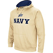Colosseum Men's Navy Midshipmen Gold Fleece Pullover Hoodie