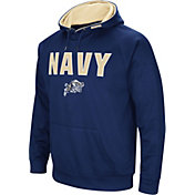 Colosseum Men's Navy Midshipmen Navy Fleece Pullover Hoodie