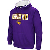 Colosseum Men's Northern Iowa Panthers  Purple Fleece Pullover Hoodie