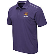Colosseum Men's Northern Iowa Panthers  Purple Eagle Polo
