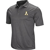 Colosseum Men's Appalachian State Mountaineers Grey Polo