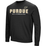 Colosseum Men's Purdue Boilermakers Playbook Black Fleece