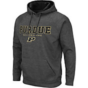 Colosseum Men's Purdue Boilermakers Grey Pullover Hoodie