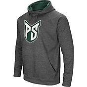 Colosseum Men's Portland State Vikings Grey Fleece Pullover Hoodie