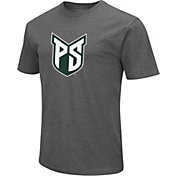 Colosseum Men's Portland State Vikings Grey Dual Blend T-Shirt