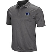 Colosseum Men's Penn State Nittany Lions Grey Polo
