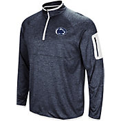 Colosseum Men's Penn State Nittany Lions Blue Amnesia Quarter-Zip Shirt