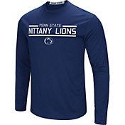 Colosseum Men's Penn State Nittany Lions Blue Long Sleeve Performance T-Shirt