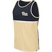 Colosseum Men's Pitt Panthers Blue/Gold La Paz Tank Top