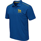 Colosseum Men's Pitt Panthers Blue Eagle Polo