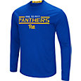 Colosseum Men's Pitt Panthers Blue Long Sleeve Performance T-Shirt