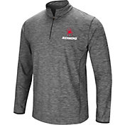 Colosseum Men's Richmond Spiders Grey Action Pass Quarter-Zip Shirt