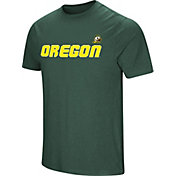 Colosseum Men's Oregon Ducks Green Brushed Performance T-Shirt
