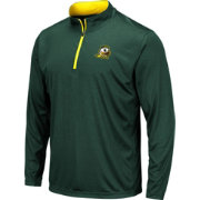 Colosseum Men's Oregon Ducks Green Embossed Quarter-Zip Performance Shirt