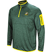 Colosseum Men's Oregon Ducks Green Amnesia Quarter-Zip Shirt