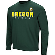 Colosseum Men's Oregon Ducks Green Playbook Fleece