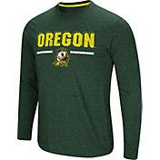 Colosseum Men's Oregon Ducks Green Touchdown Long Sleeve T-Shirt